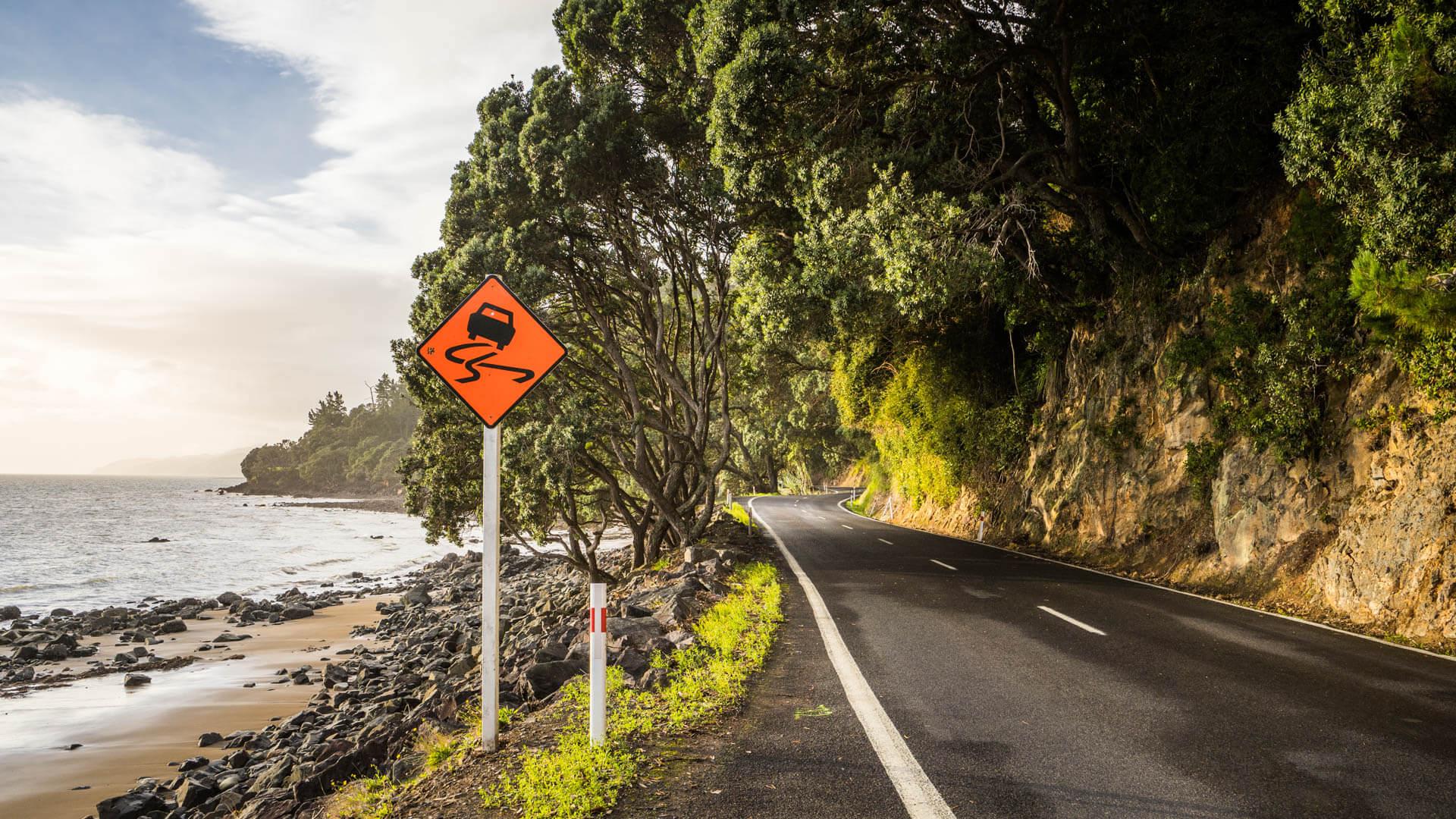 route cotiere péninsule de Cooromandel