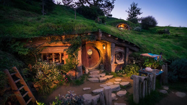 Maison de Hobbit à Hobbiton
