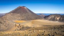 Le Mont Ngauruhoe, aussi appelé Mount Doom ou Montagne du Destin