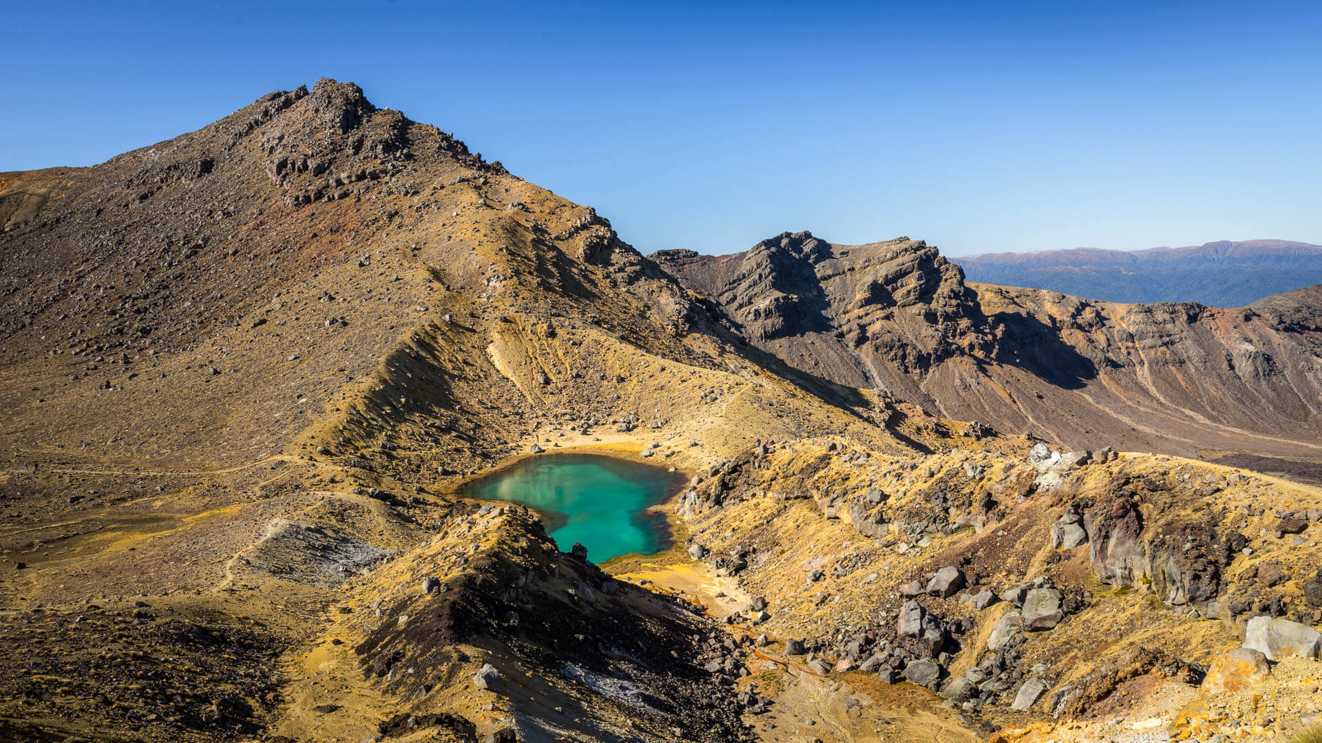 Tongariro Alpine Crossing Lac