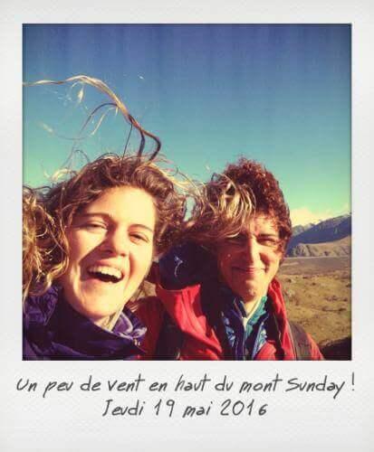 Vent en haut du mont Sunday