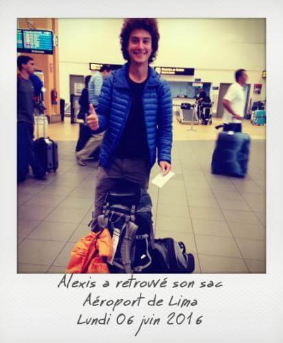 Alexis et son sac