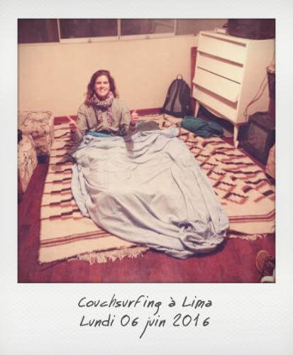 Couchsurfing à Lima
