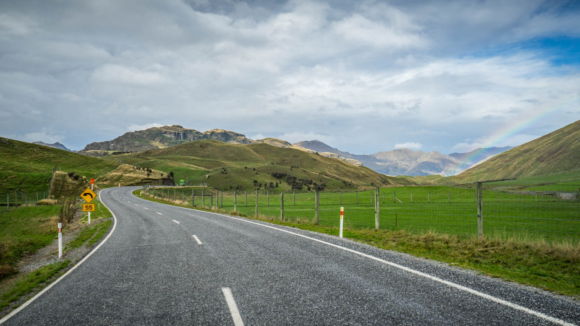 Route vers Diamond Lake, Wanaka