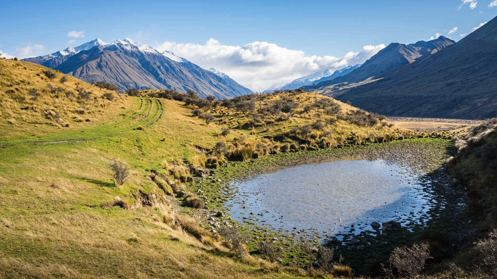Lac sur le mont Sunday