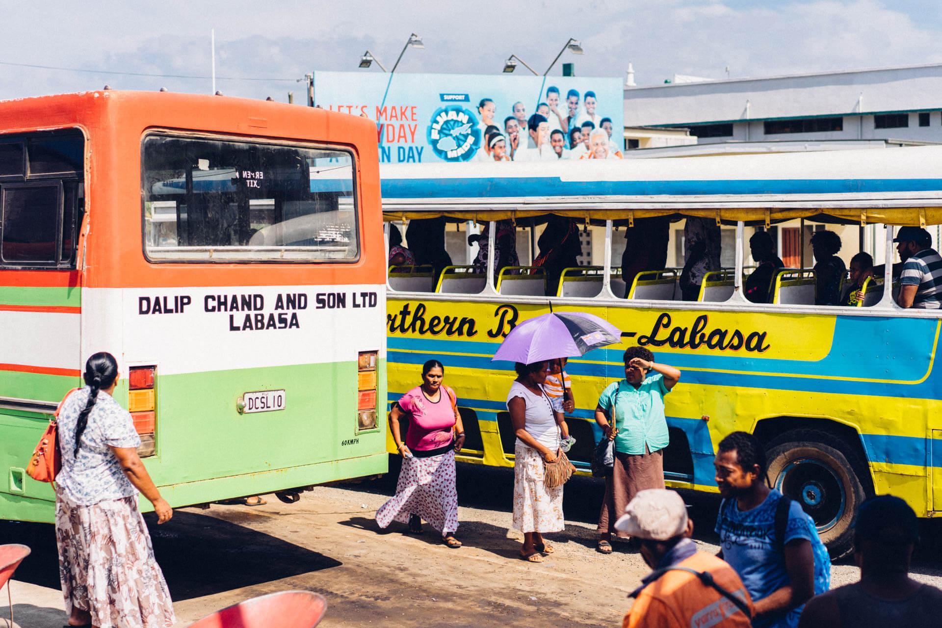 gare de bus Lambasa Fidji