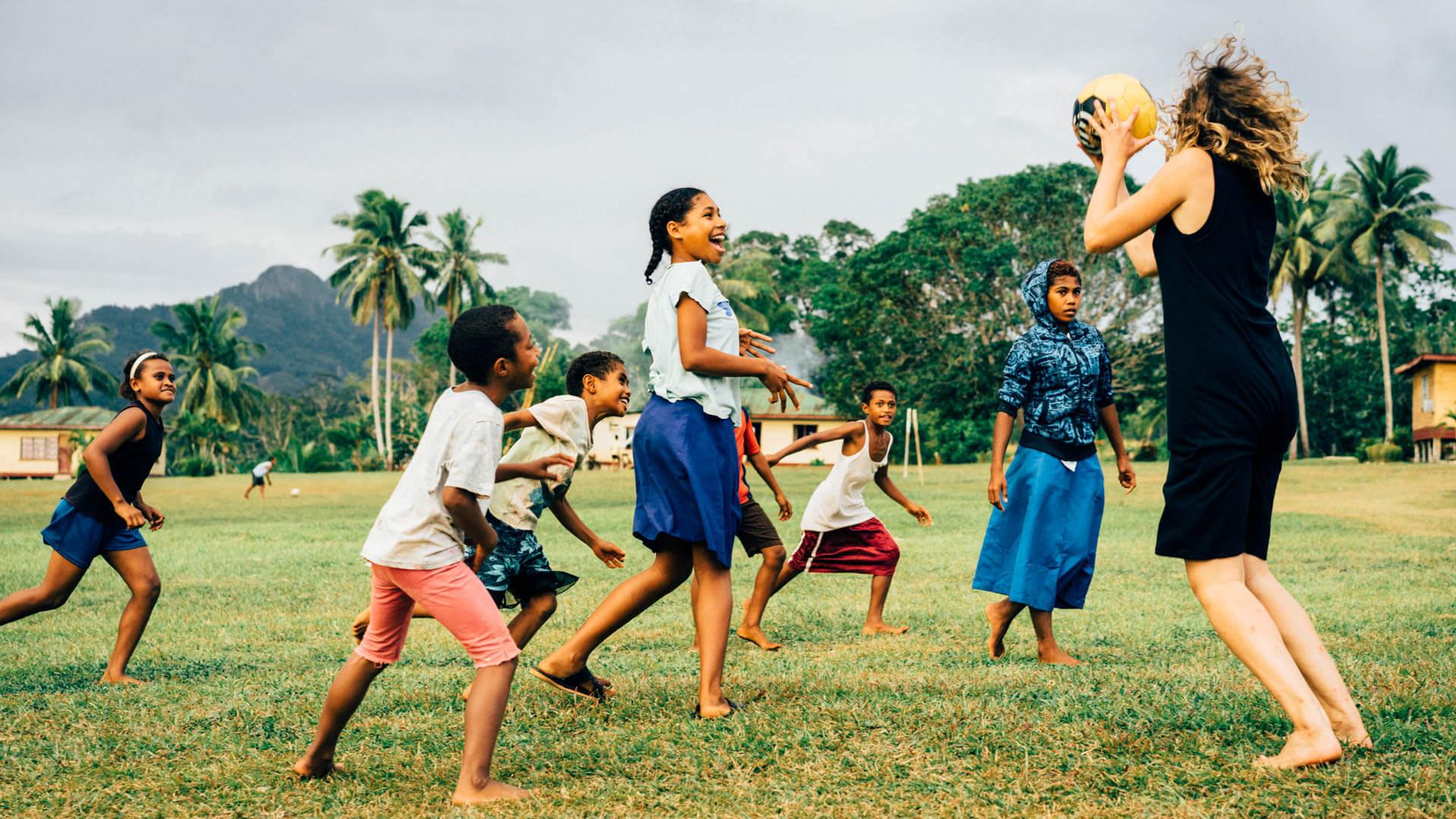 Netball aux Fidji