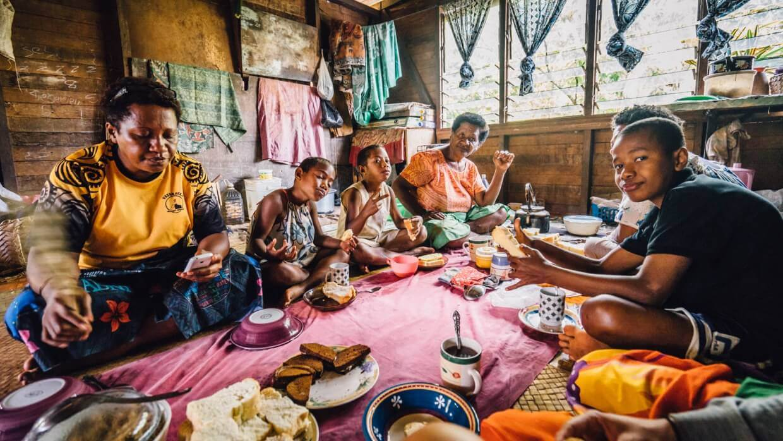 Repas aux Fidji