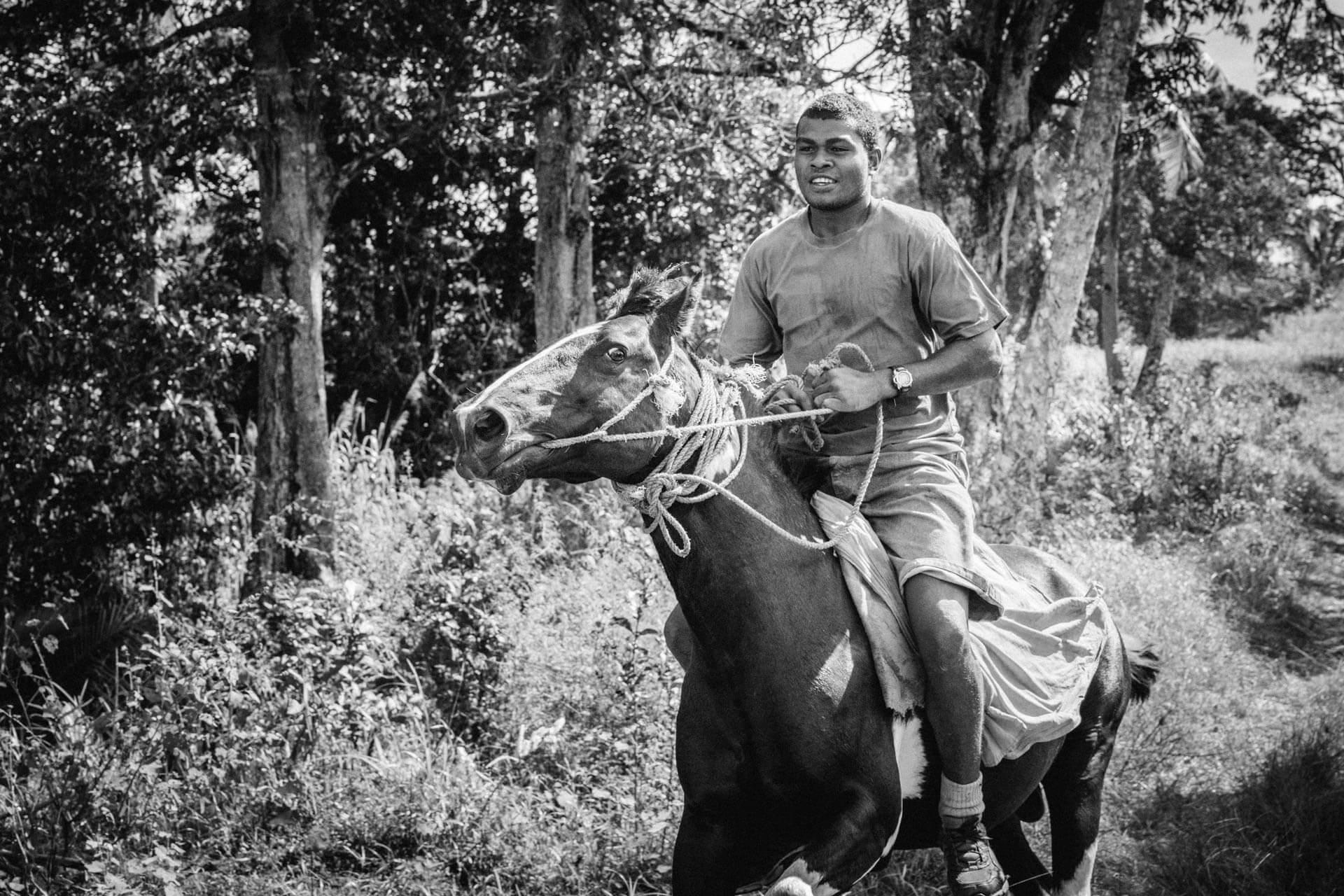 A cheval aux Fidji