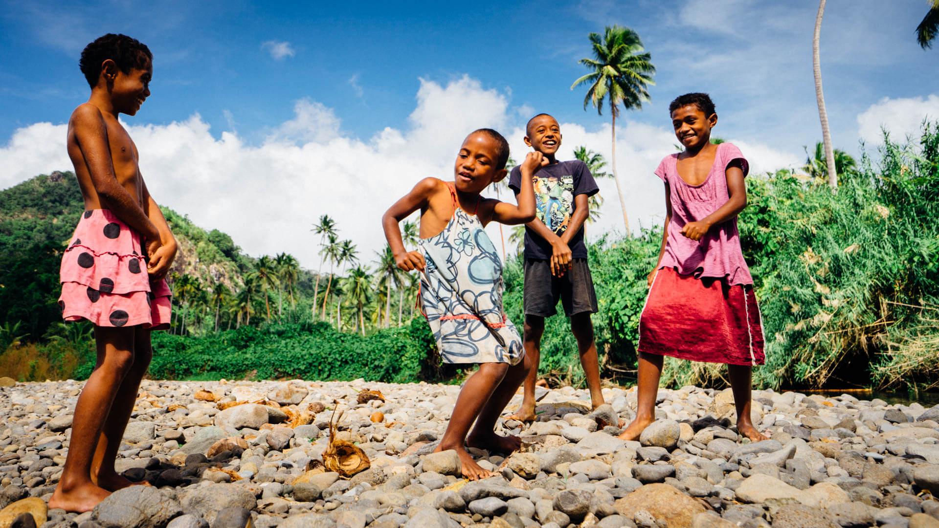 Enfants Fidji