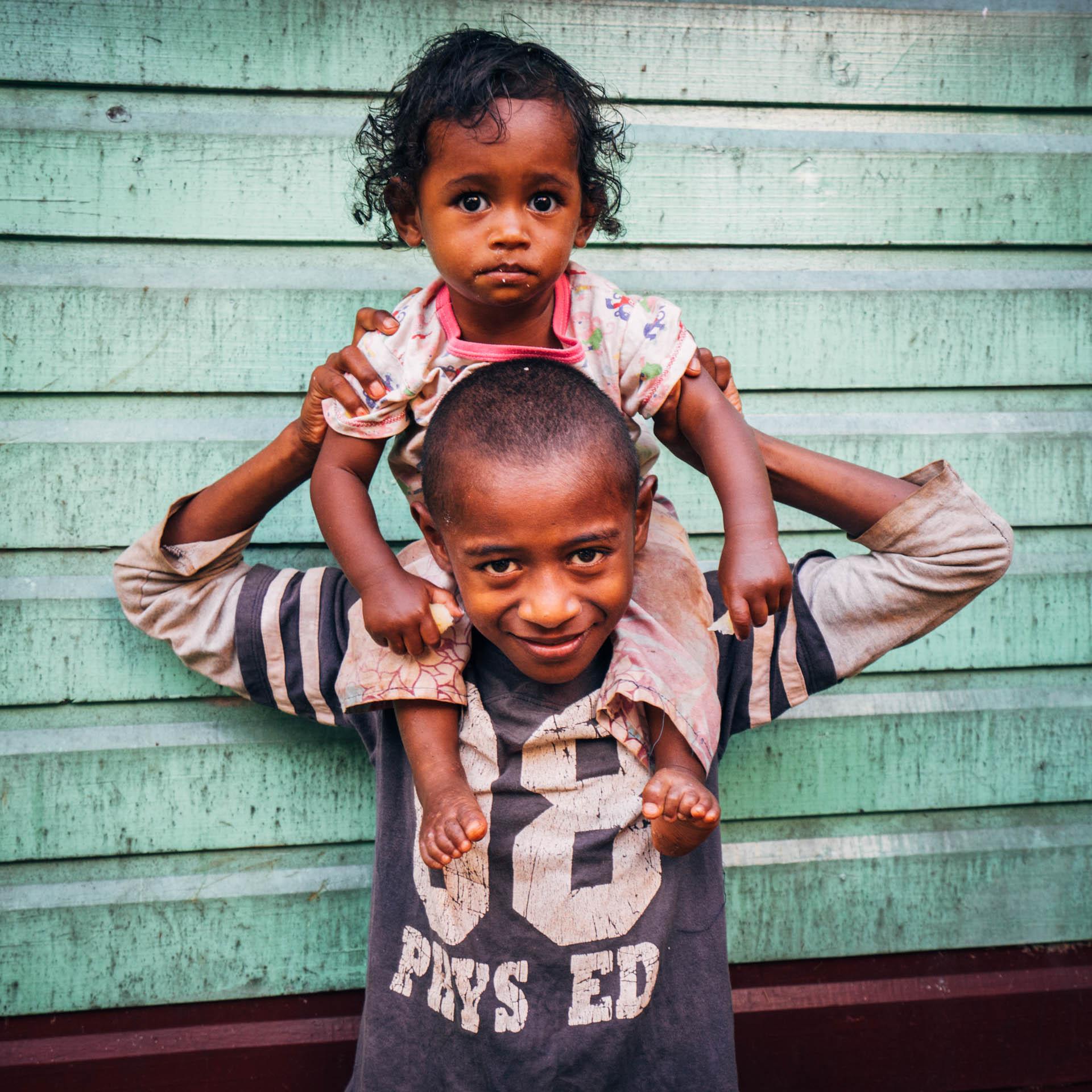 Portrait Fidjien