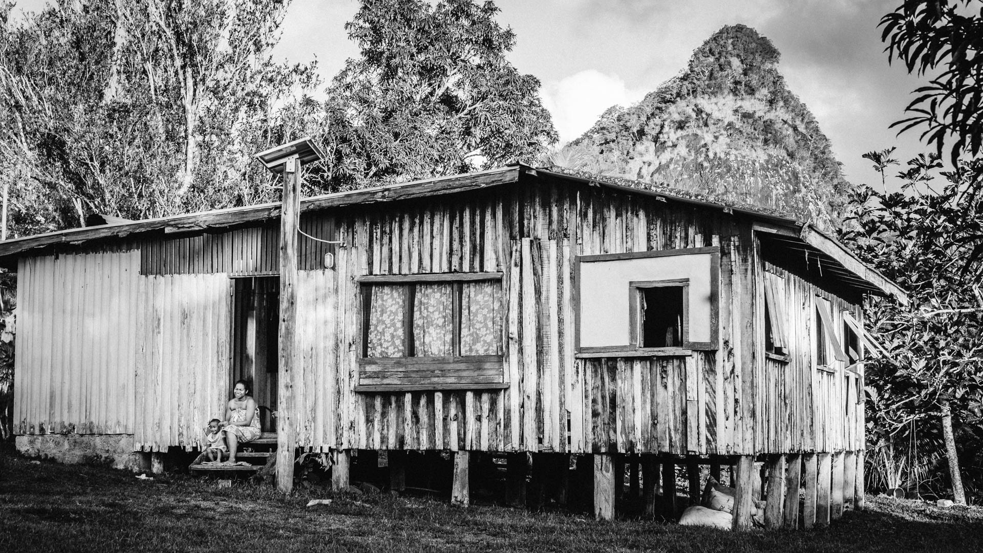 Maison fidjienne