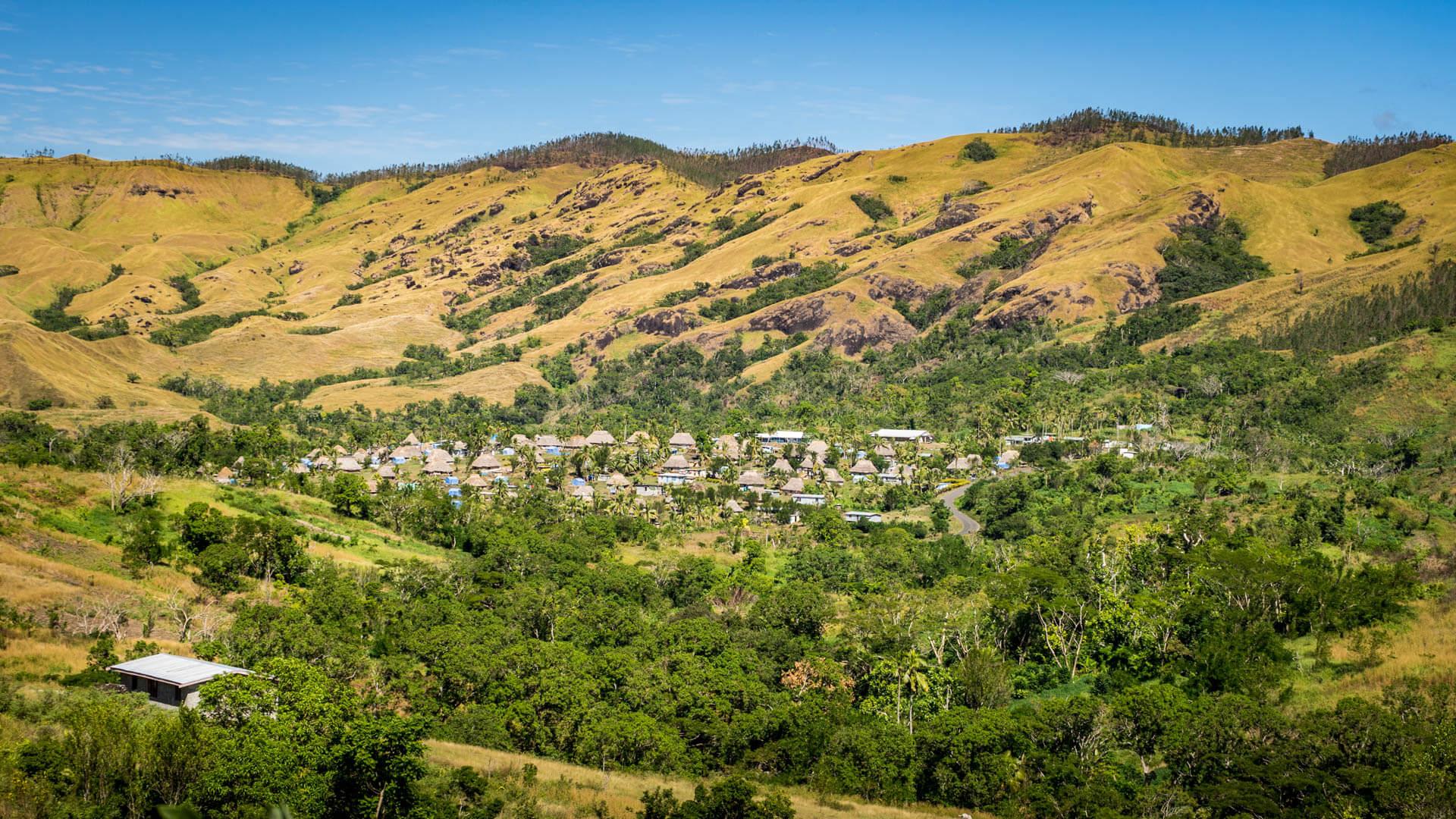 Navala Village Fidji