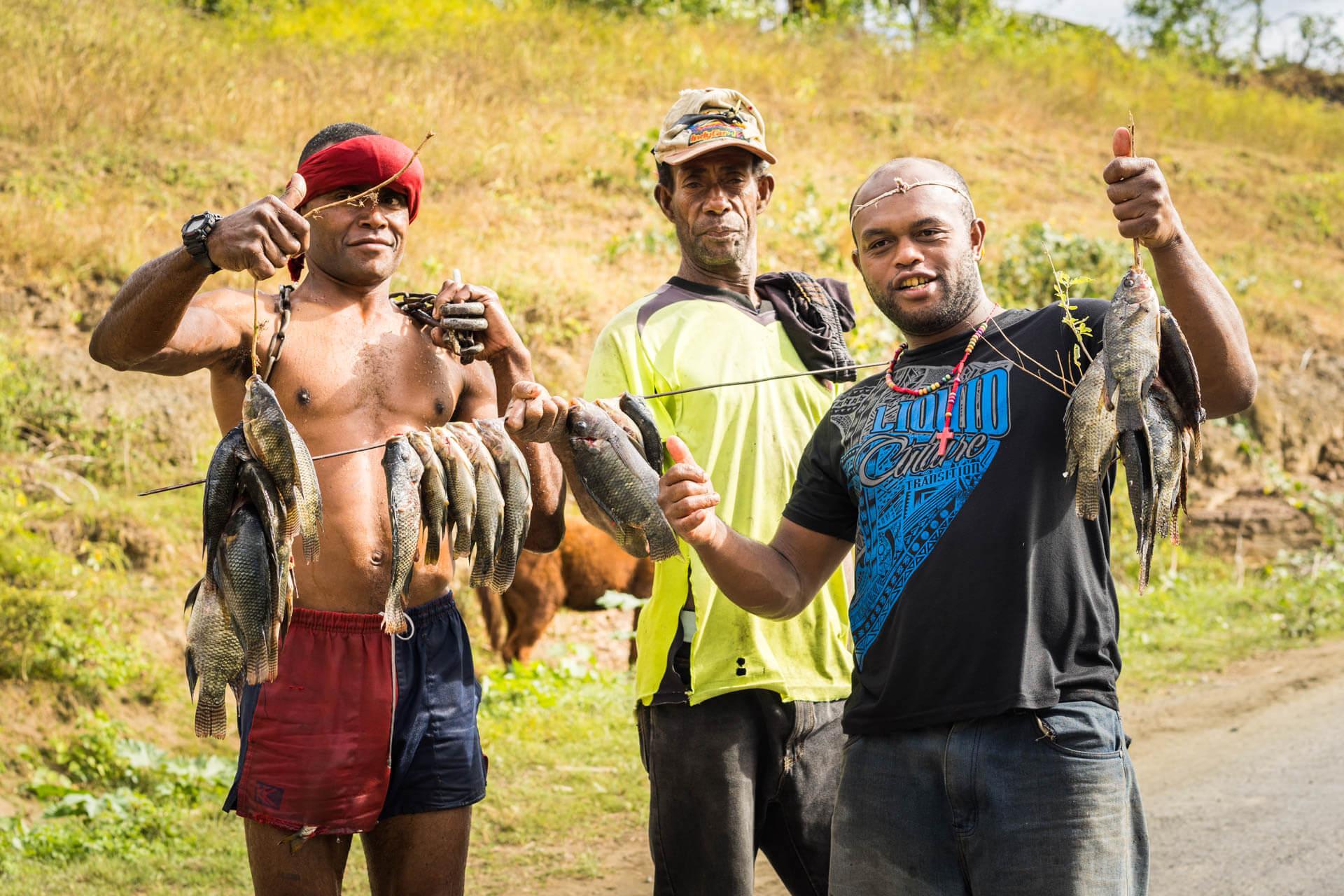 Pecheurs aux Fidji