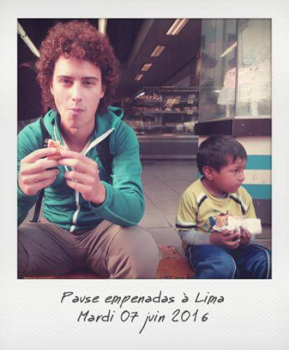 Empenadas à Lima