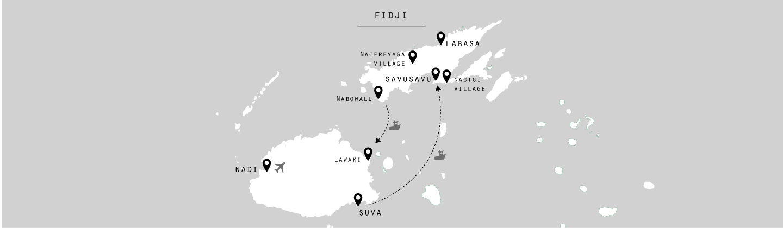 Fidji-map