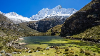 Lagune en montagne