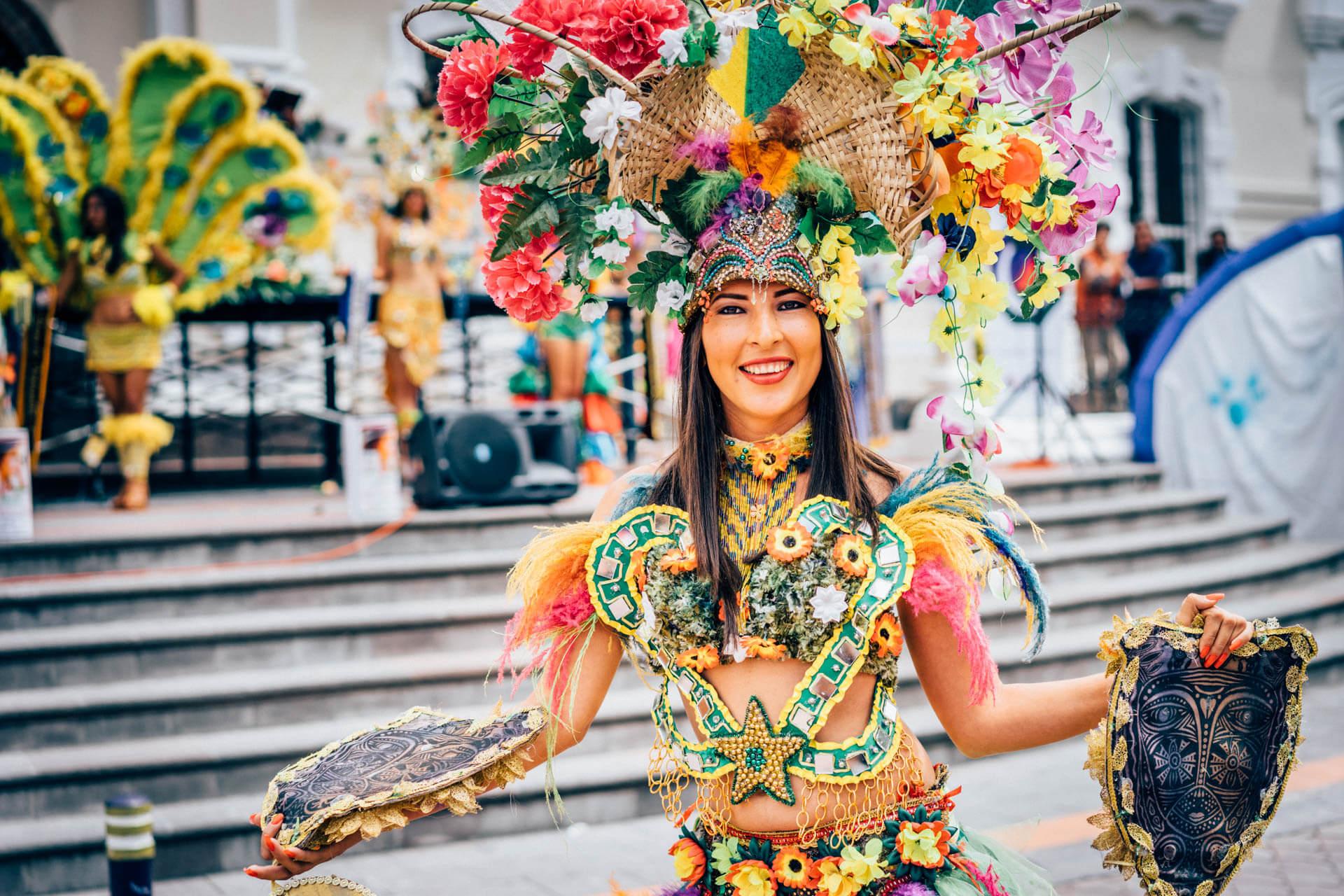 Défilé à Otavalo