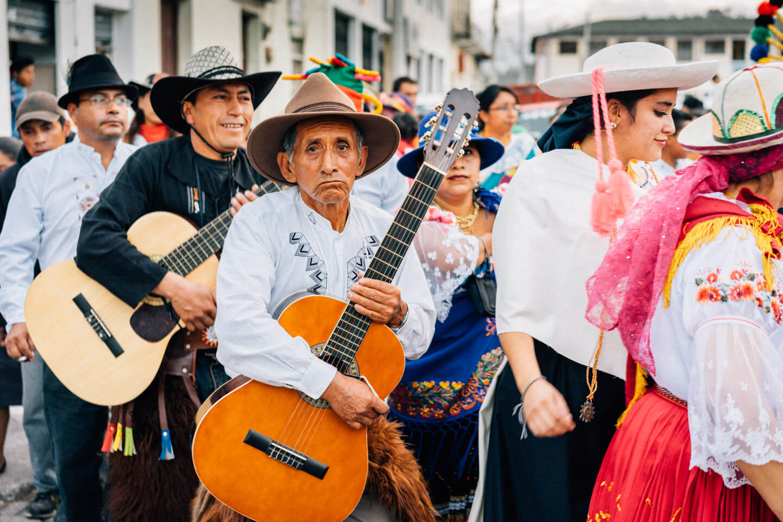 Guitariste de San Pablo