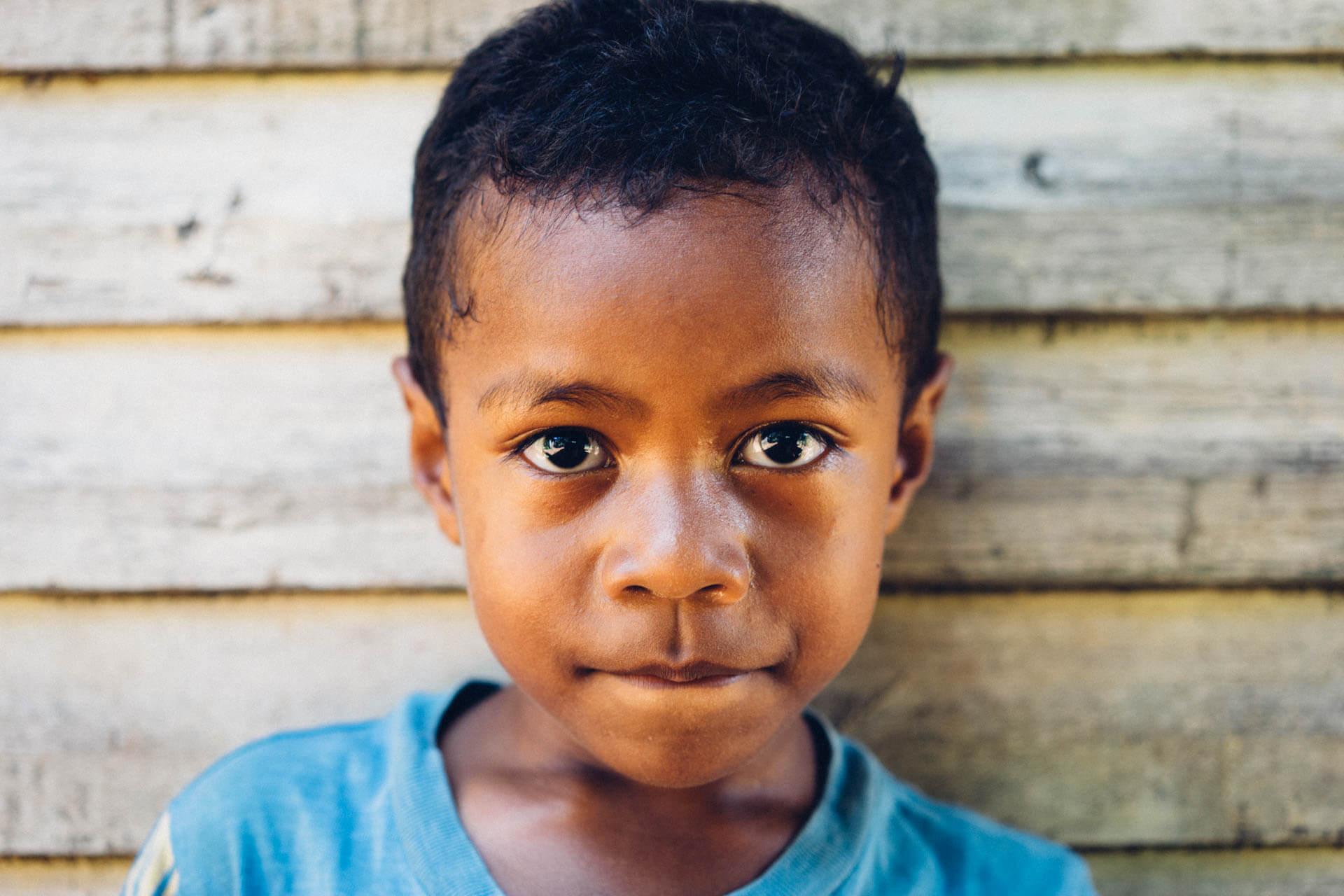 Portrait enfant fidjien
