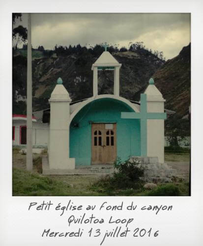 Petite église Quilotoa Loop