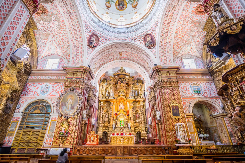 Iglesia de La Merced, Quito