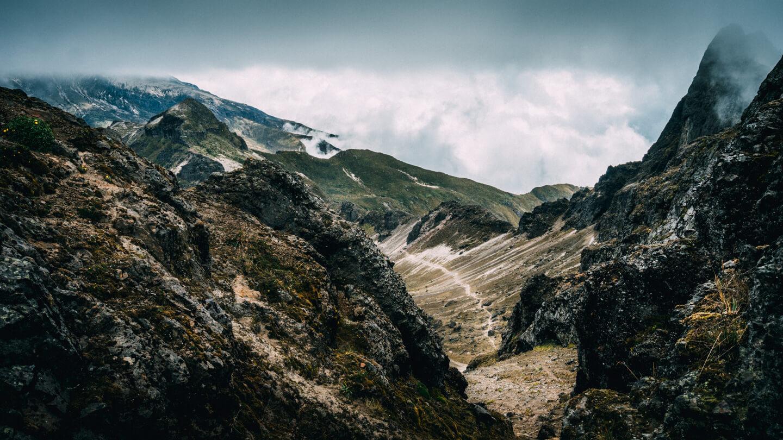 Trek du volcan Pichincha, Quito