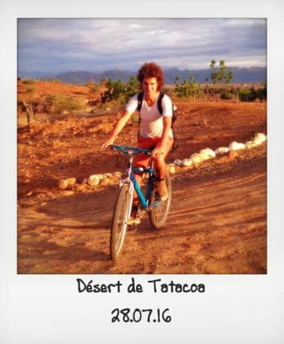 Tatacoa en vélo
