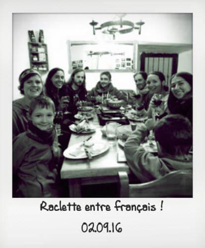 Raclette andine